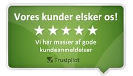 Trustpilot - vores kunder elsker os