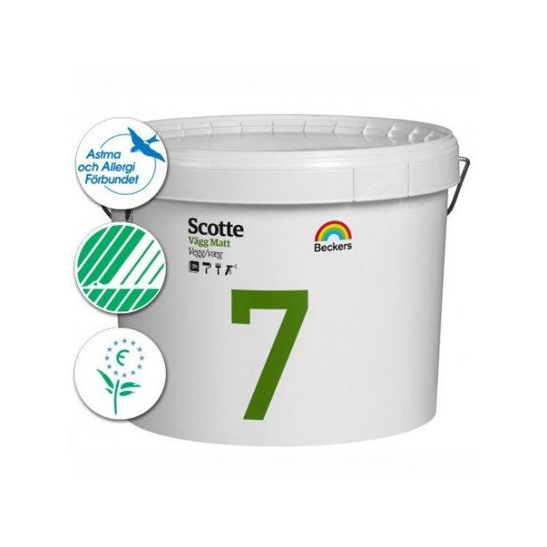 Scotte 7 Væg- og loftsmaling - Mat (7)