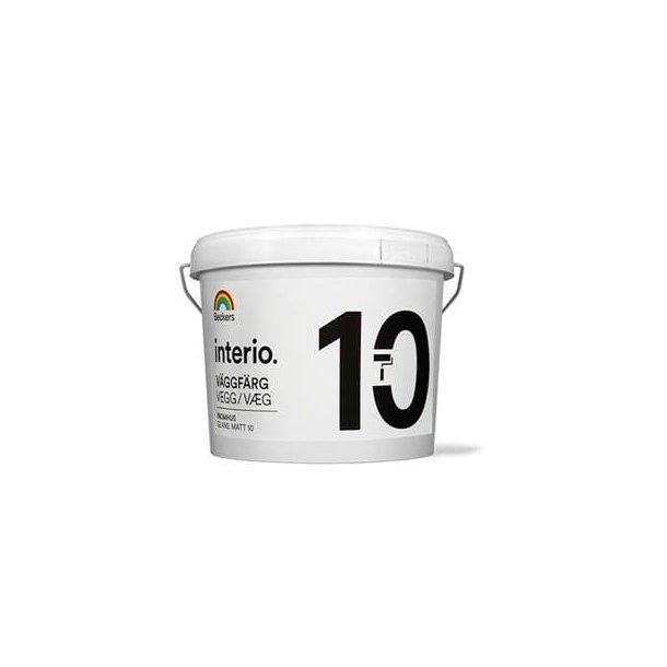Interio Vægmaling  - Halvmat (10)