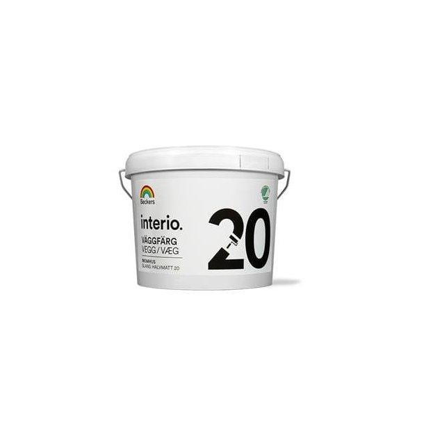 Interio Vægmaling 20 - Halvmat (20)