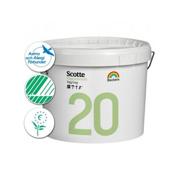 Scotte 20 Væg- og loftsmaling - Halvmat (20)