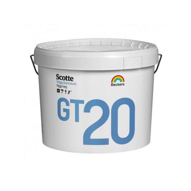 Scotte GT 20 - Ekstrem slidstærk lofts- og vægmaling